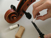 Thomas Bertrand – Violin maker